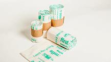 Personalised polythene bags