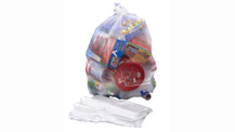 Large clear Polythene Bag