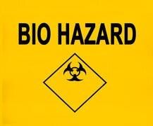 Bio Hazard Waste Bag