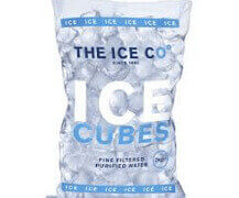 Low Melt ice cube bag