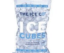 Low Melt ice cube bag