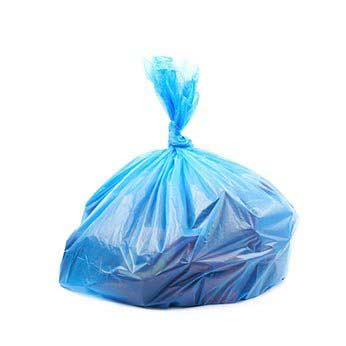 Polythene waste sack