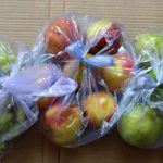 fruit in polythene