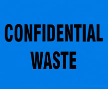 Confidential Waste Bags