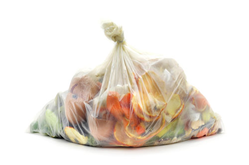 image of food waste bag