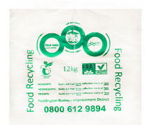 Food Waste Polythene Bags