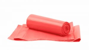 Red Degradable Polythene Bags