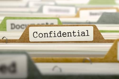confidential Waste folder